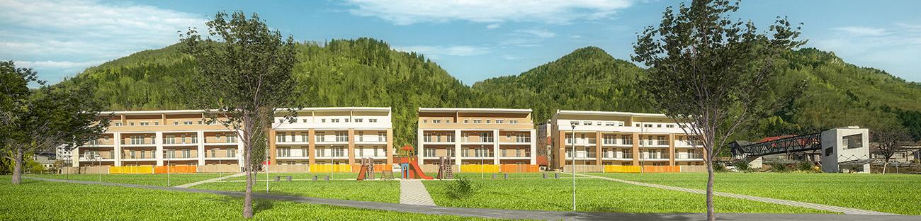 Nova stanovanjska soseska v osrčju Gorenjske